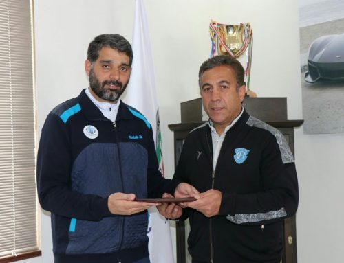 The appointment of the coach of Rezvani football team in the Kurdistan region of Iraq
